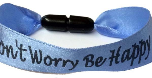 25mm Custom Ribbon Wristbands