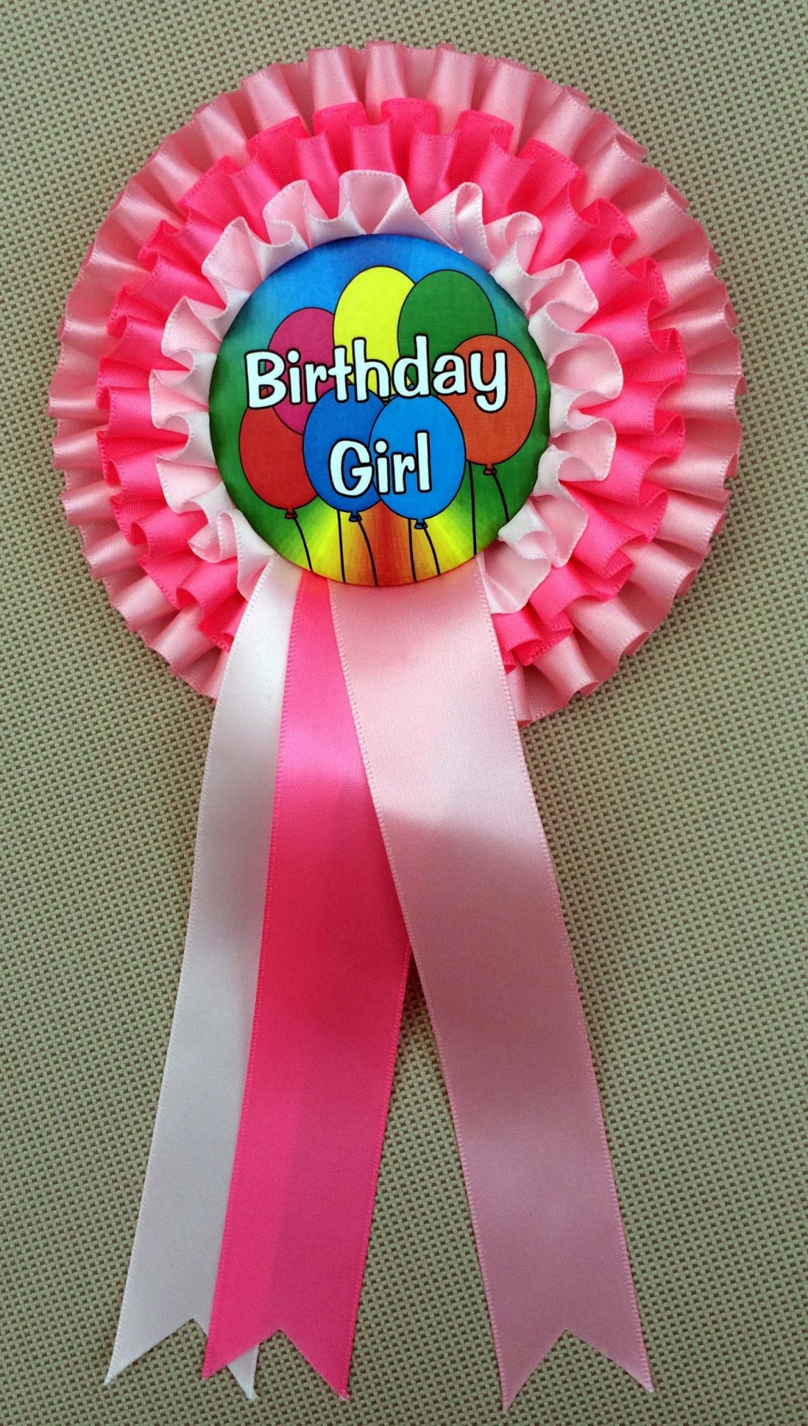 Special Offer on STANDARD BIRTHDAY Triple Rosettes