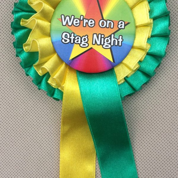 Rosettes for Stag Nights