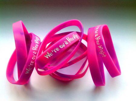 Standard Hen Night Wristbands - Silicone