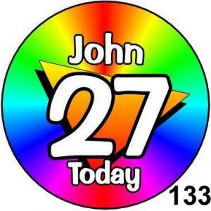 Rainbow Age Badges