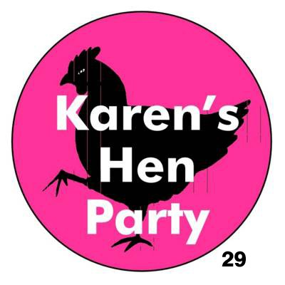 hen night badges