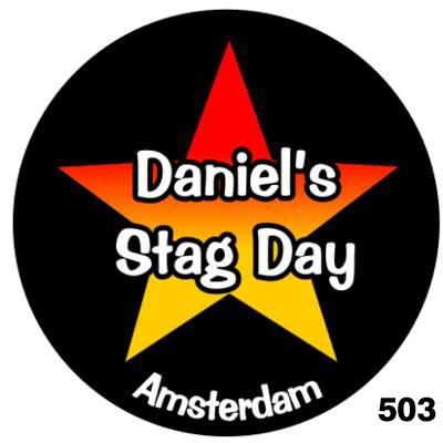 Badges for Stag Nights