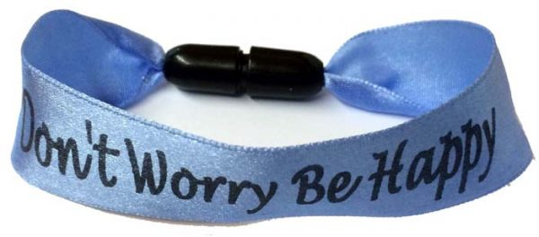 25mm Custom Ribbon Wristbands