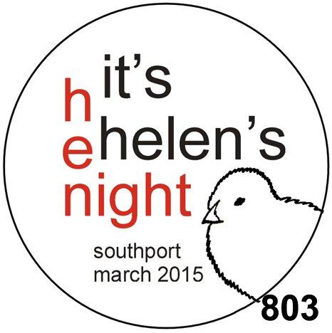 hen night rosette