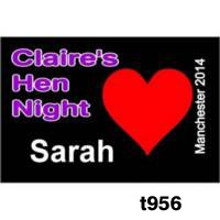 Badges for Hen Nights - Rectangular