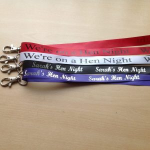 15mm Custom Ribbon Lanyards