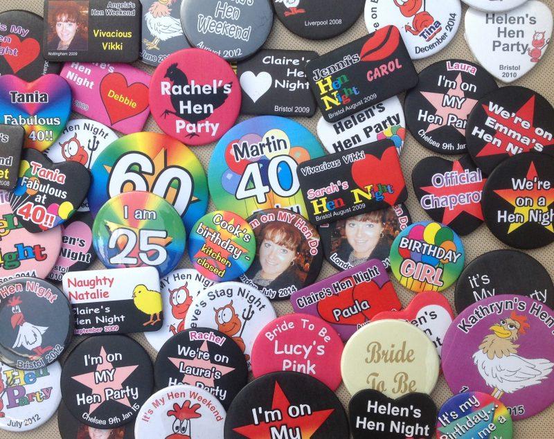 Customised Badges