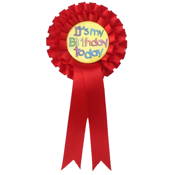 Standard Rosettes for your Birthday Party Celebration