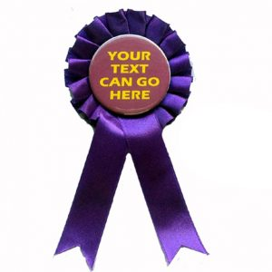 Personalised Rosettes for Miscellaneous Occasions