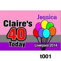 Badges - Personalised for Birthdays Rectangular