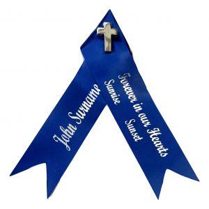 Funeral or Memorial Ribbons